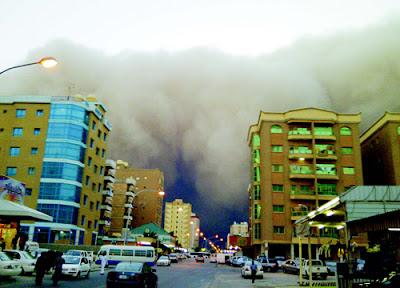 Kuwait Sandstorm March 25 2011