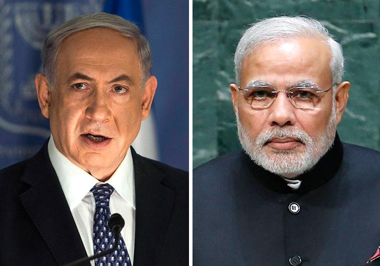 Netanyahu and Modi