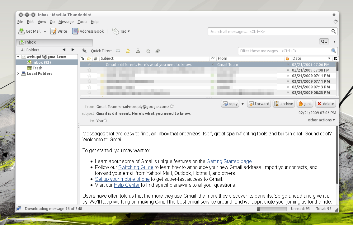 How To Backup Gmail Using Thunderbird ~ Web Upd8