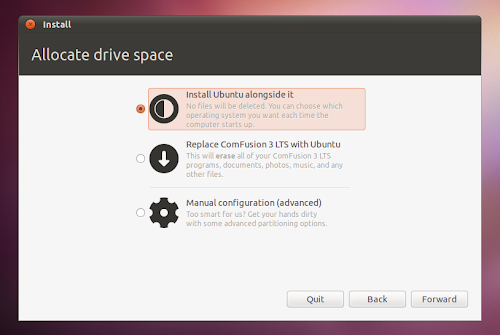 Ubuntu 11.04 LiveCD installer