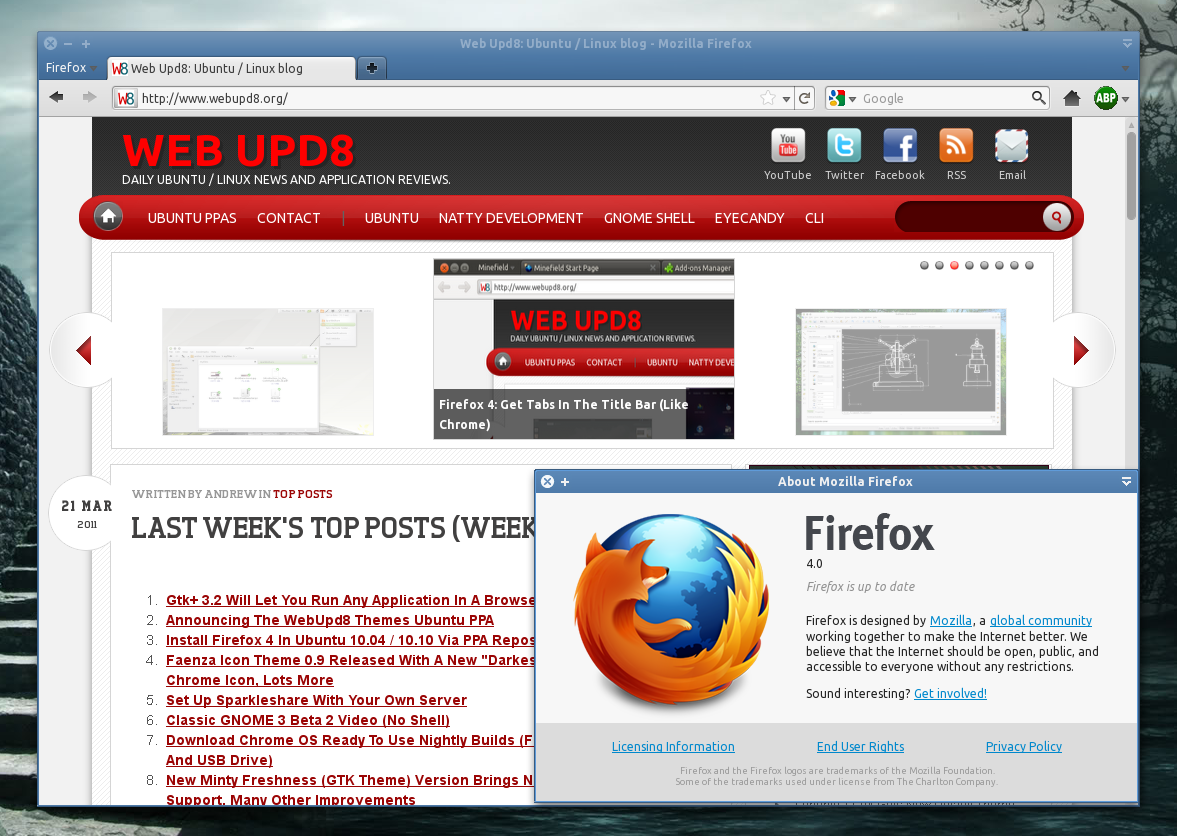 Firefox 4 (Stable) Available For Download! ~ Web Upd8: Ubuntu