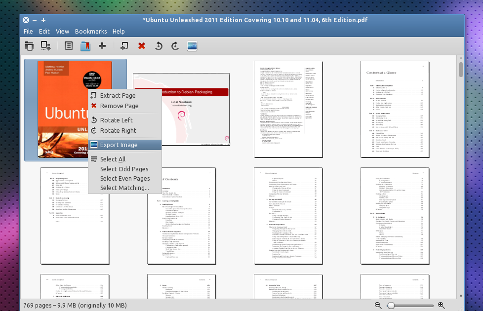 Edit pdf documents in linux with pdf mod remove or add for Pdf document page delete