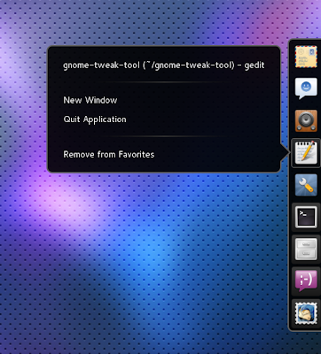 Gnome Shell Dock Extension