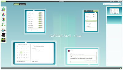 Gaia GNOME Shell theme