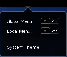 Turn off compact menus
