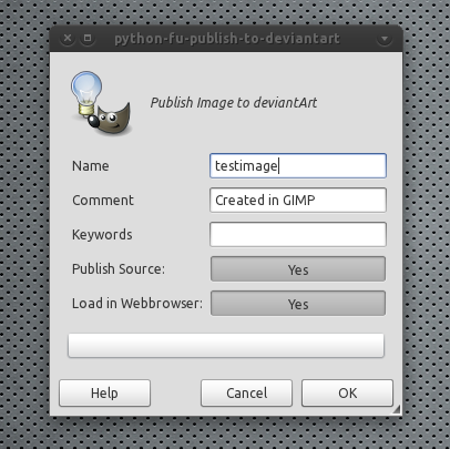 GIMP And Inkscape Plugins To Publish Images To DeviantArt