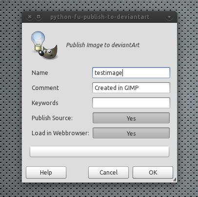 GIMP And Inkscape Plugins To Publish Images To DeviantArt