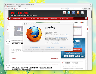 Firefox 5.0 Ubuntu