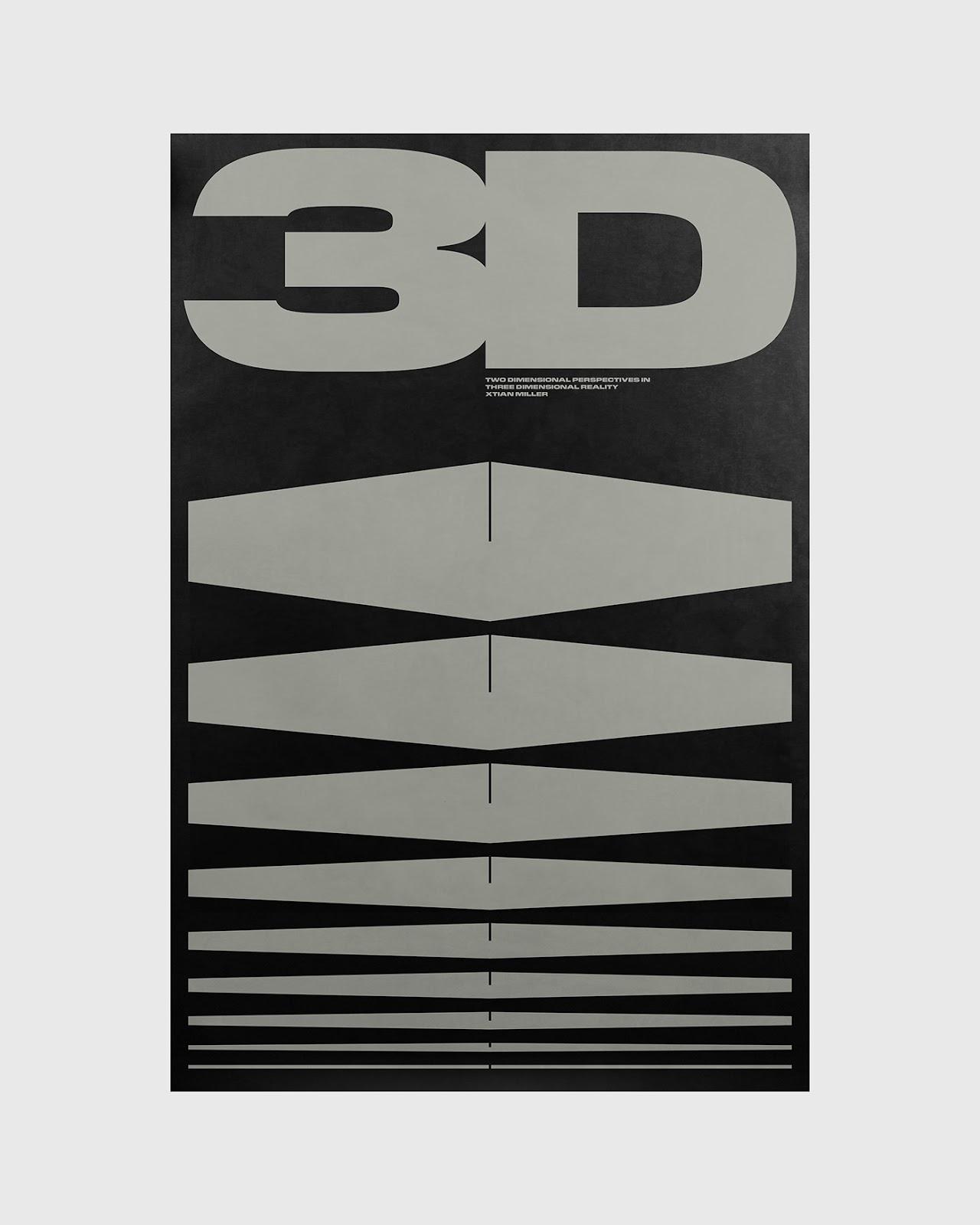 3D poster by Xtian Miller