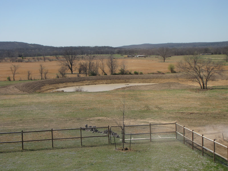 Started on 1 acre pond pics included building a dam for Building a 1 acre pond