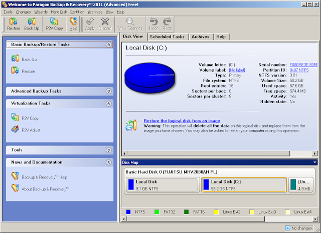 программа для копирования жесткого диска