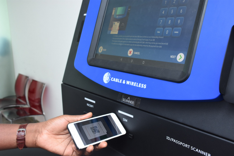 Azimut KYC Sim Registration and Dispensing Kiosk Cable & Wireless