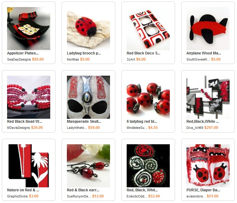 Ladybug Chic Red and Black Collection