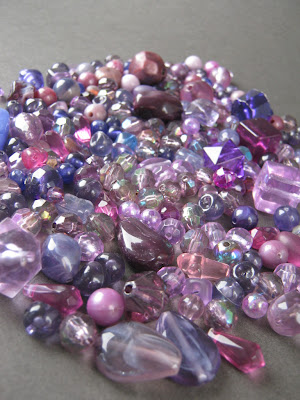 Purple Bead Mix