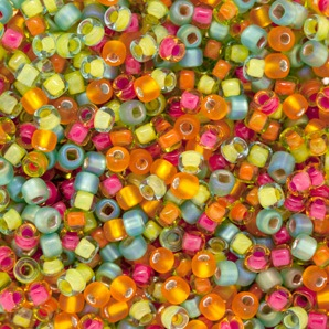 Caribe Seed Bead Mix from FusionBeads.com
