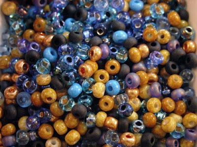 Twilight in the Canyon Mix from SpiritBearBeads