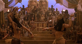 Nefertiri and Anuksunamun Spar for the Pharaoh