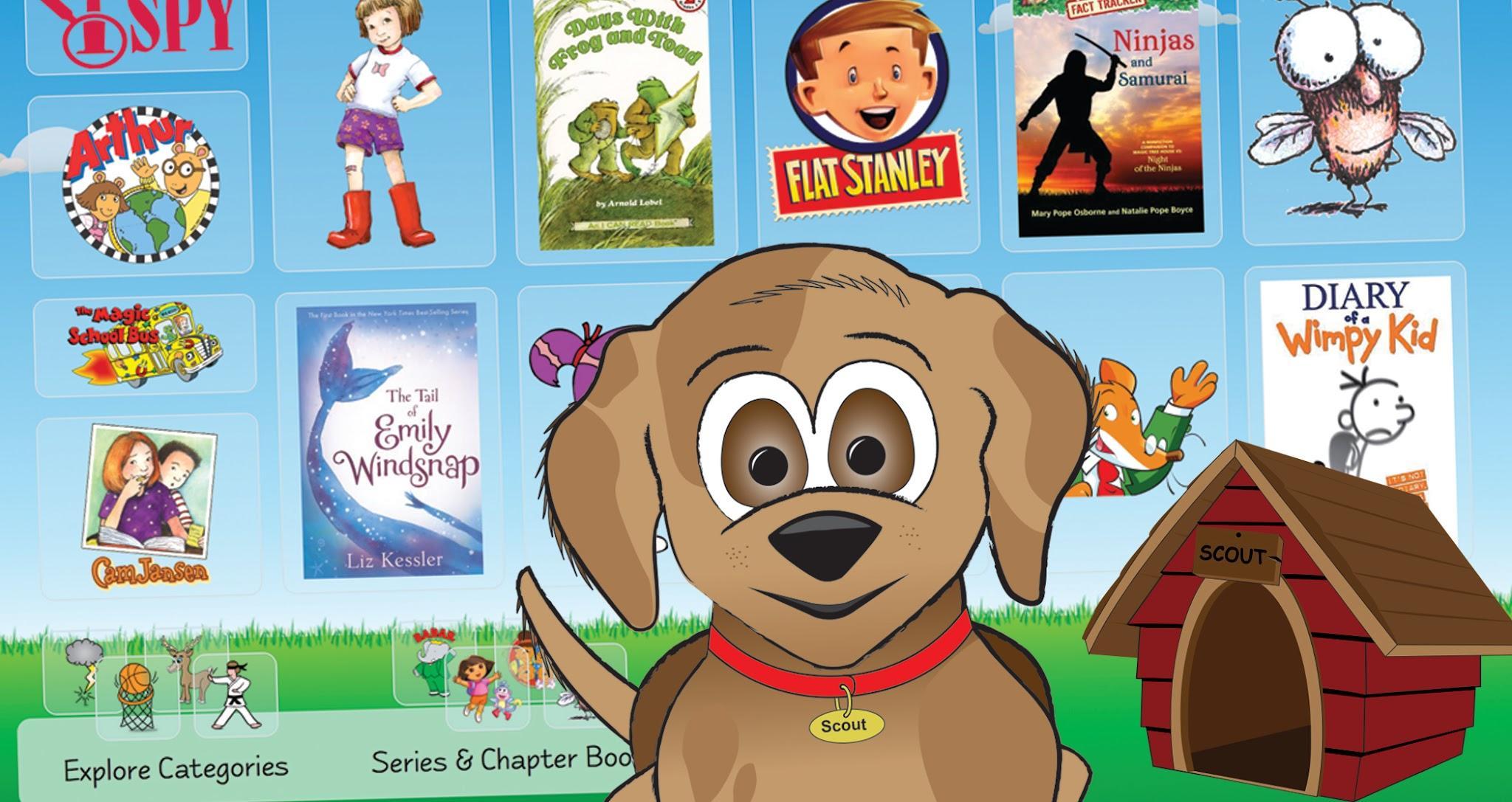 Scout, the LS2 Kids mascot