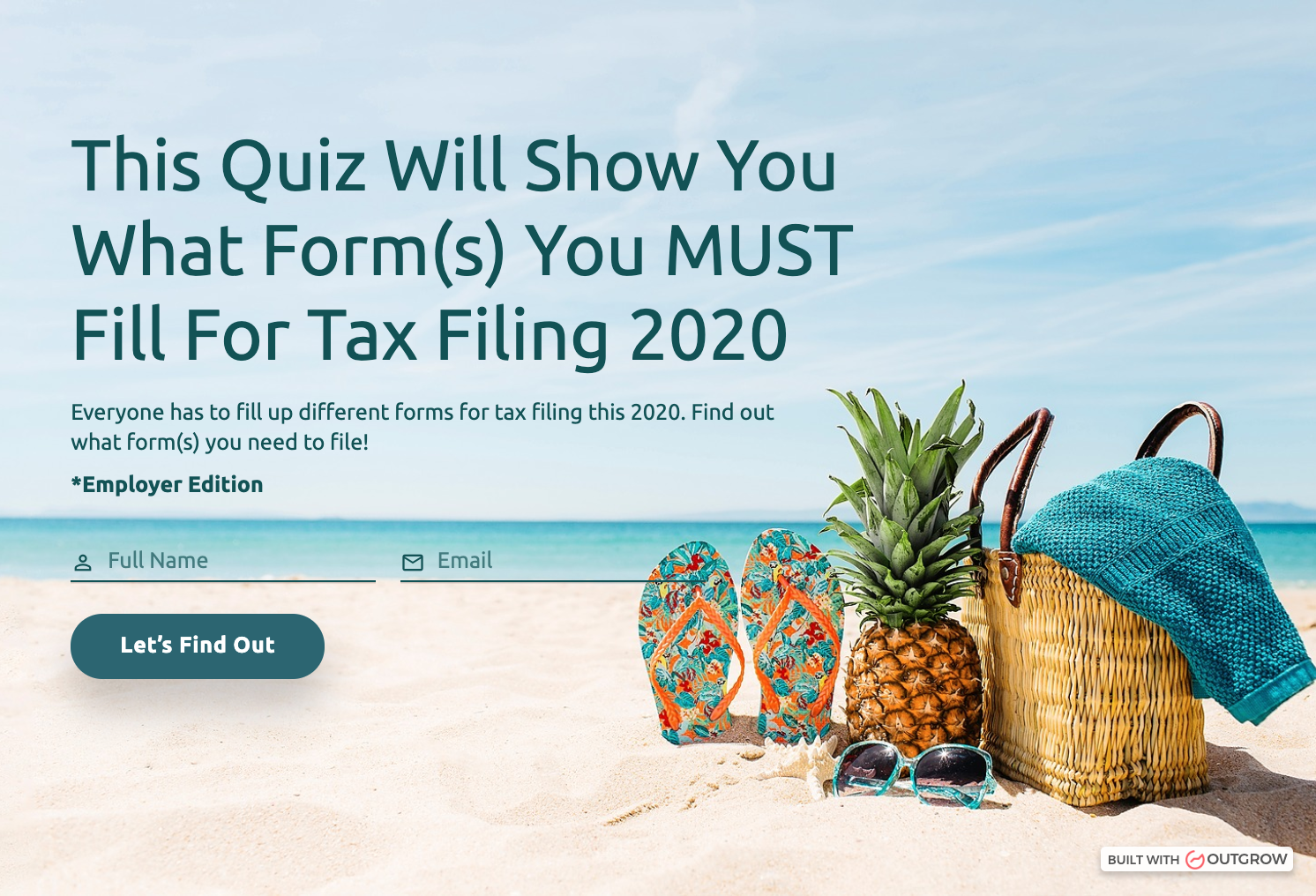 employee income tax filing quiz