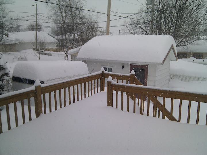 Back porch March 7, 2011
