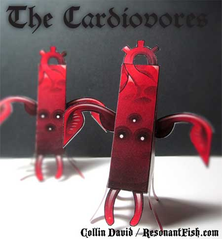The Cardiovores Papercraft