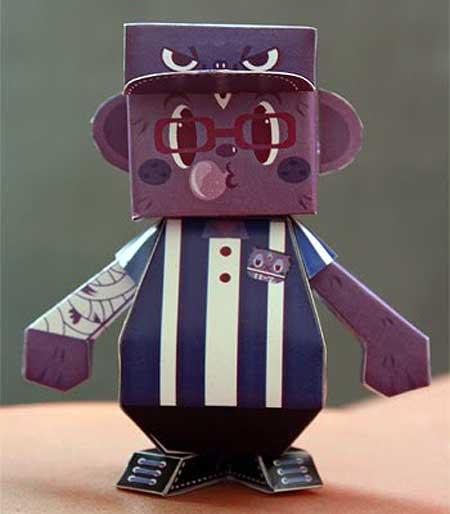 Dumpy Paper Toy Olla BOku