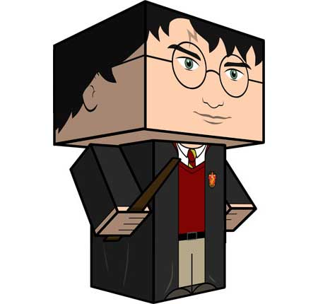 Harry Potter Paper Toy