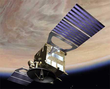 ESA Venus Express Papercraft