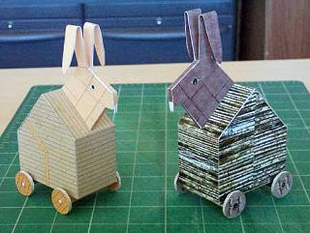 Trojan Rabbit Papercraft