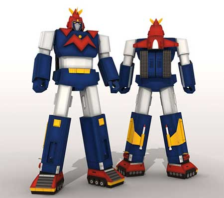 Voltes V Papercraft