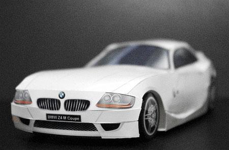 BMW Z4 Papercraft