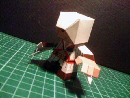 Assassins Creed Papercraft Ezio