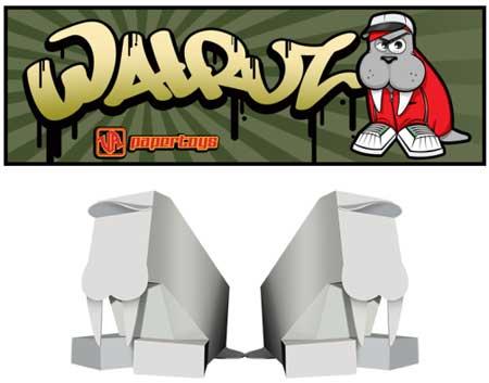 Walruz Paper Toy