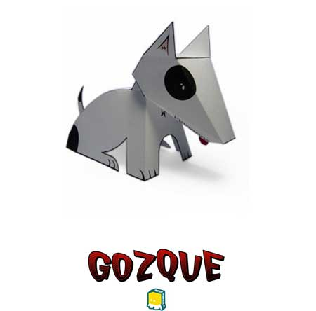 Gozque the Dog Papercraft