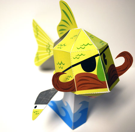 C3 Koi Paper Toy 3