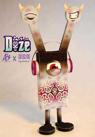 Leechoso Paper Toy Doze