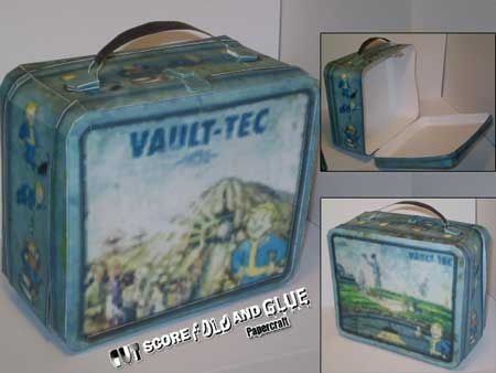 Fallout New Vegas Lunchbox Papercraft