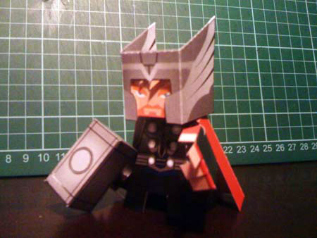 Thor Paper Toy Film Version