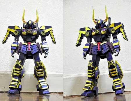 Shin Musha Gundam Papercraft MkII