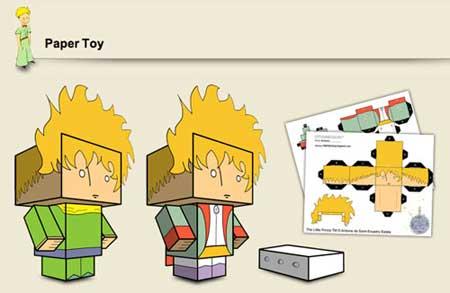 The Little Prince Papercraft Le Petit Prince