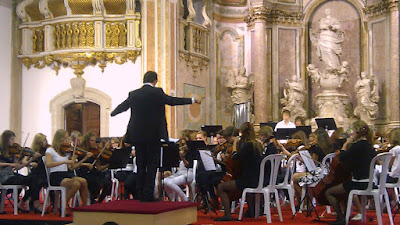 Lorquestra simfònica dirigida per en Peter Vinken