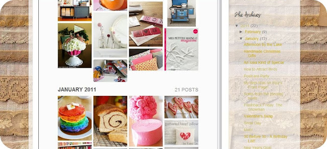 blog inspiration page