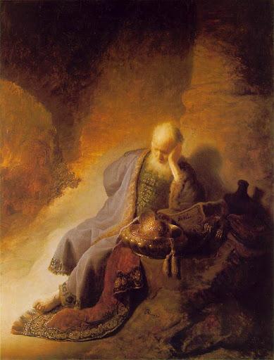 Rembrandt: Jeremija