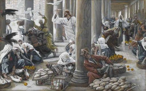 Tissot: Trgovci istjerani iz hrama