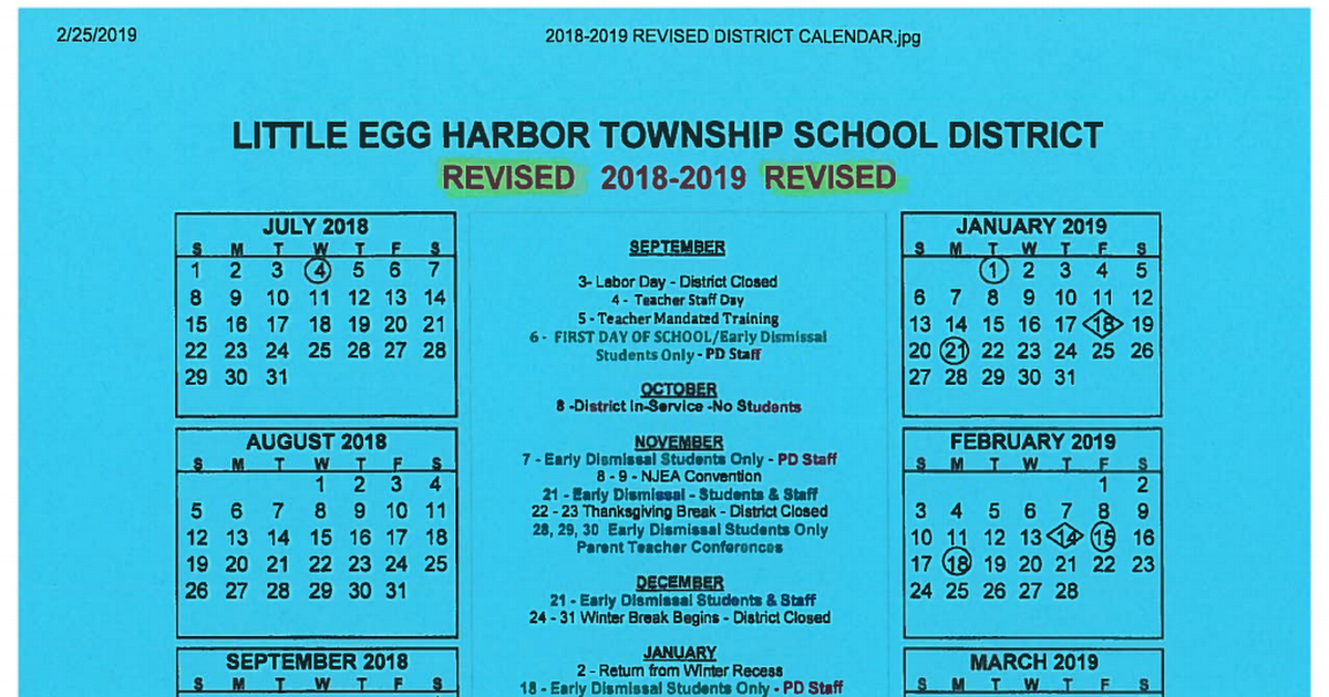 February 2019 Calendar First School Final 2018 2019 Calendar.pdf   Google Drive