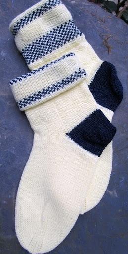 Socken auf Singer Memo II