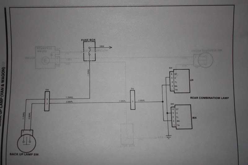 Hyundai H100 Fuse Box Diagram Wiring Diagrams Schema Source · Have You Removed The Rear Light Cer And Had A Look At Wire Contacts Inside: Hyundai Grace Electrical Wiring Diagram At Shintaries.co