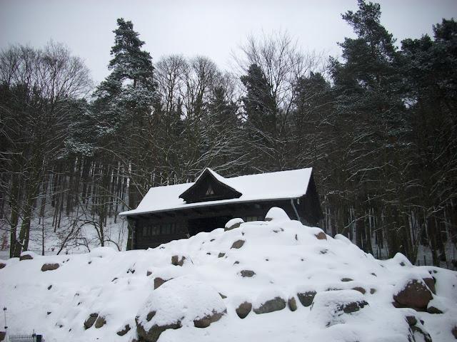 Pięknie położona chatka lam