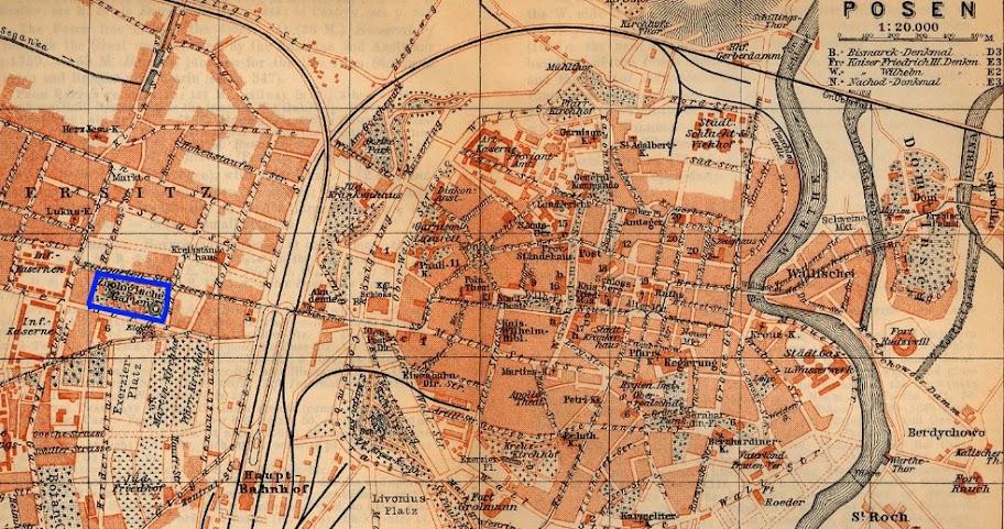 Plan Poznania z 1910 roku