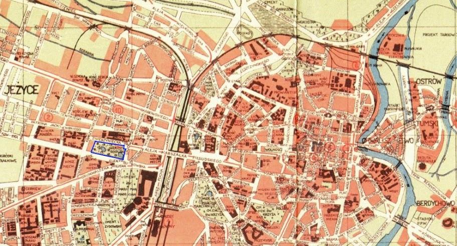 Plan Poznania z 1937 roku
